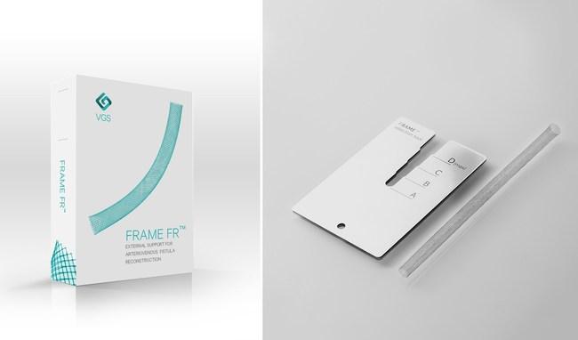 FRAME (TM) FR external support for AV Fistula repair
