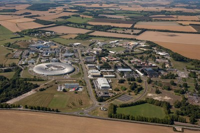 Aerial view of Harwell Science and Innovation Campus