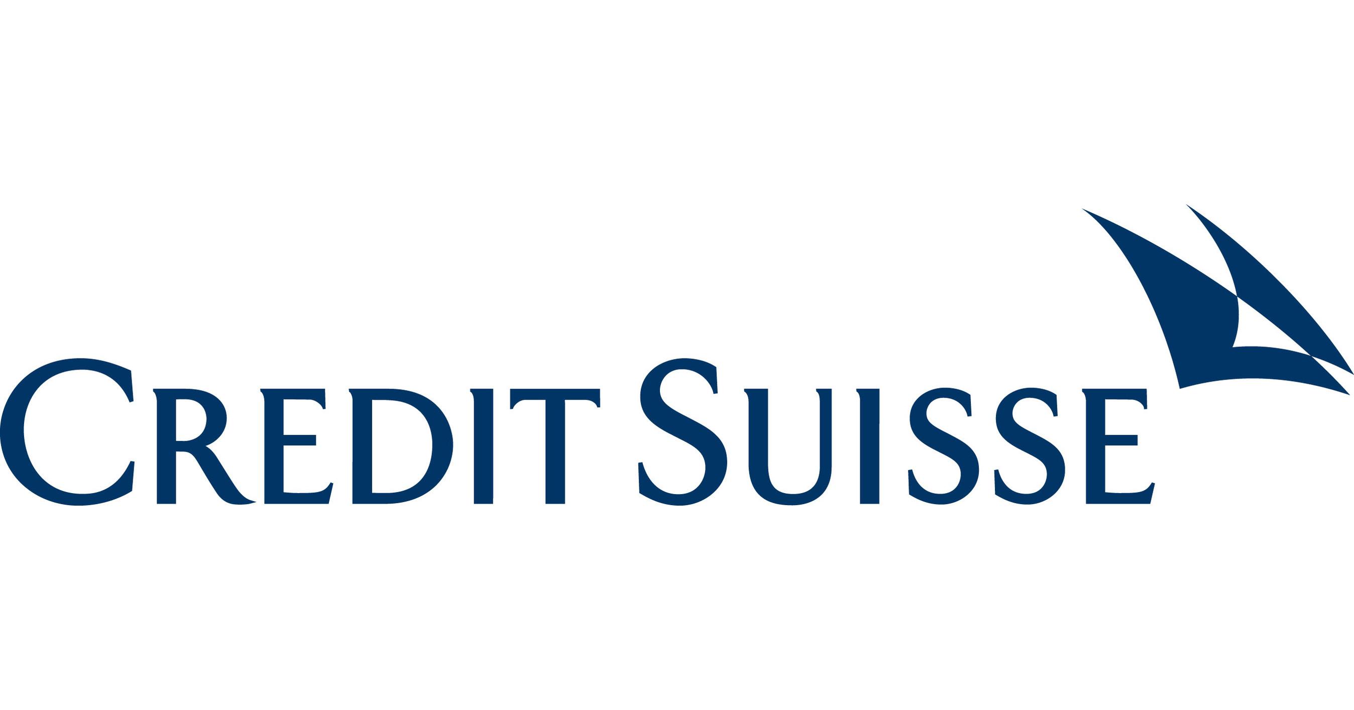 Credit Suisse Advances Institutional Sustainability Initiative