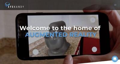 Eyekandy - The Home of Augmented Reality (PRNewsfoto/Eyekandy)