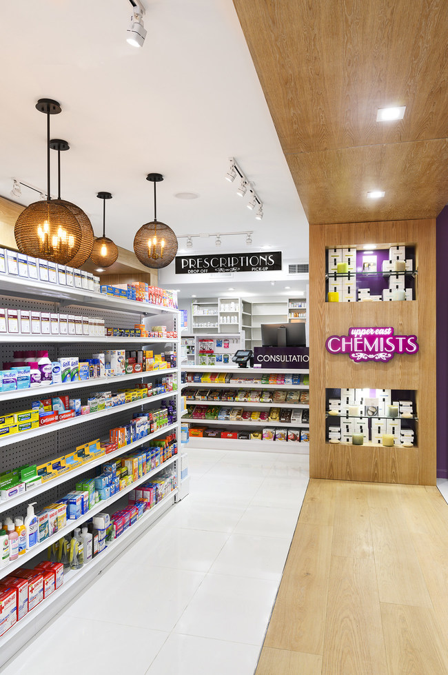 Upper East Chemists by studioBIG. Photo credit: Harriet Andronikides