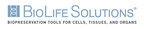 BioLife Solutions CryoStor® Cell Freeze Media Embedded in Cellular Biomedicine Group Clinical Trial of AlloJoin™