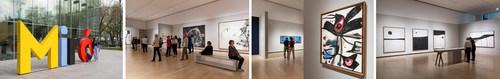 Miró à Majorque. Un esprit libre au MNBAQ. Photos : MNBAQ, Idra Labrie et Denis Legendre (Groupe CNW/Musée national des beaux-arts du Québec)