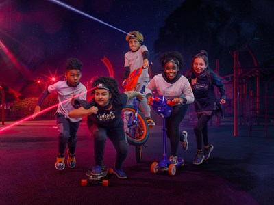 Hasbro And Super Heroic Team Up To Promote New NERF Apparel And Footwear Line