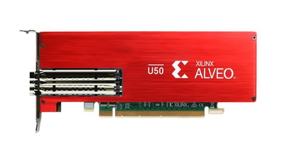 Alveo U50 Data Center Accelerator Card