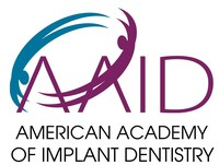 Founded in 1951, the American Academy of Implant Dentistry (AAID) is the first professional organization in the world dedicated to implant dentistry. Its membership includes general dentists, oral and maxillofacial surgeons, periodontists, prosthodontists, and others interested in the field of implant dentistry. As a membership organization, we currently represent more than 5,500 dentists worldwide. (PRNewsfoto/American Academy of Implant Den)