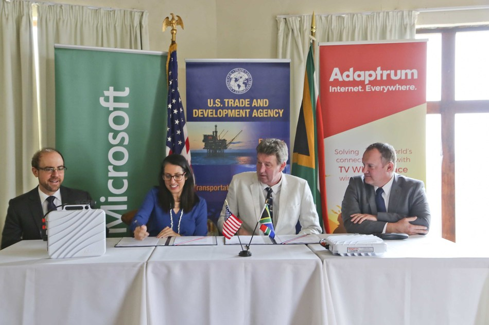 USTDA Announces Support for TVWS Project in South Africa