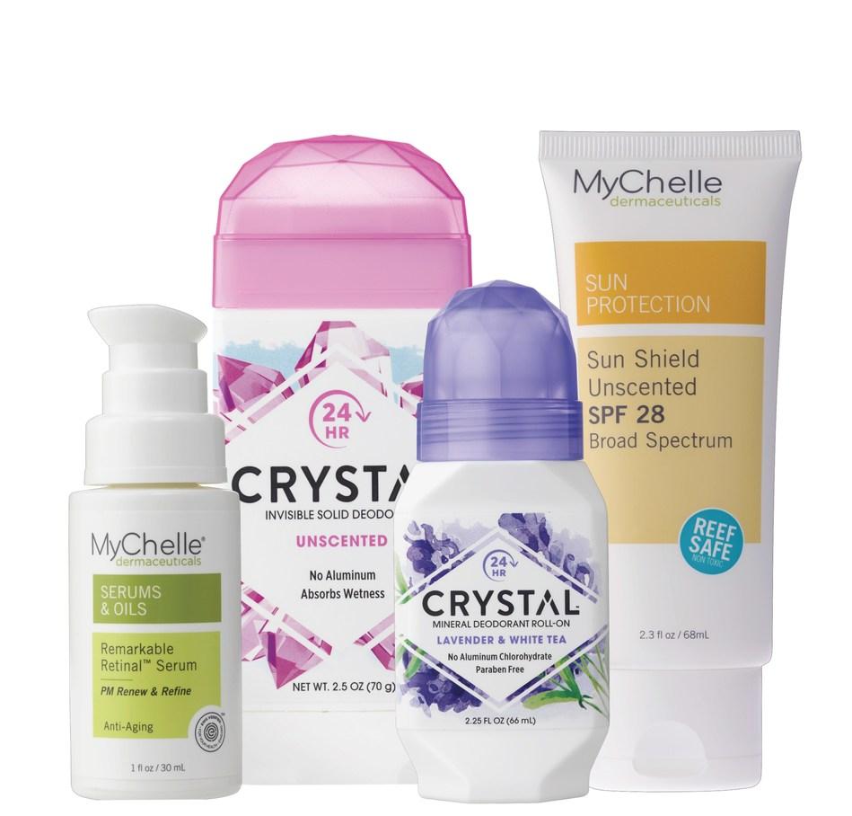 MyChelle Dermaceuticals/CRYSTAL Deodorant + Gentle Barn
