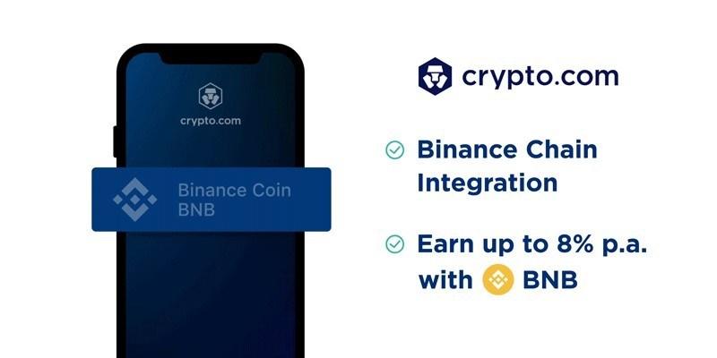 Crypto com Adds Binance Coin (BEP2) to Crypto Earn