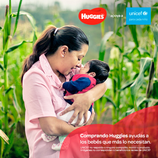 Kimberly-Clark and UNICEF are partnering to help 2 million babies and young children in Latin America and the Caribbean.