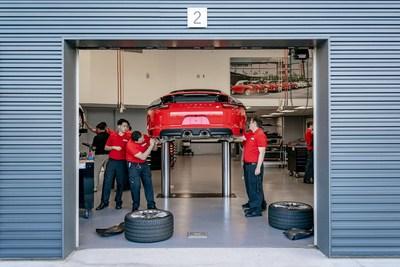 The Porsche Technology Apprenticeship Program (PTAP) has graduated more than 700 U.S. technicians since 1999. Photo: Porsche Cars North America, Inc.