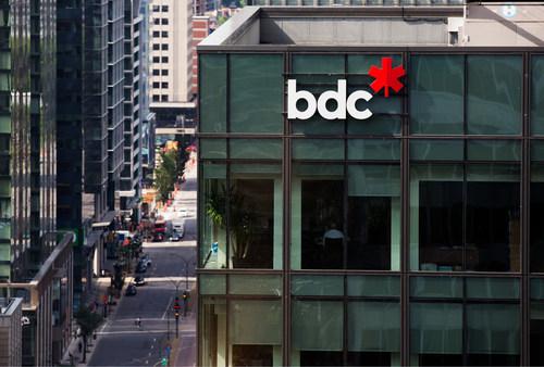 Siège social de BDC (Groupe CNW/Banque de développement du Canada)