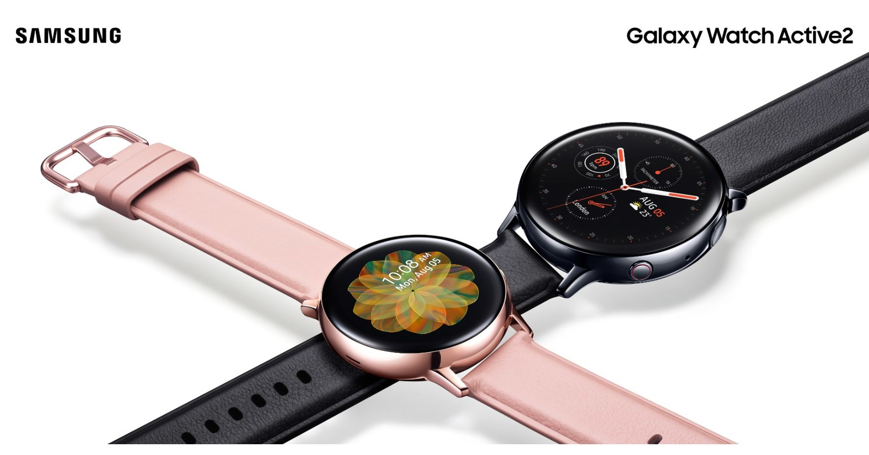 Samsung Canada Launches Galaxy Watch Active2, Designed For