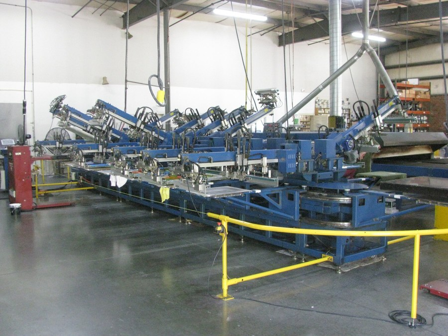 Assets of Late-Model Screen Printing Operation Offered for Sale