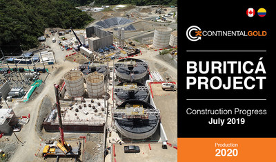 Construction Update (CNW Group/Continental Gold Inc.)