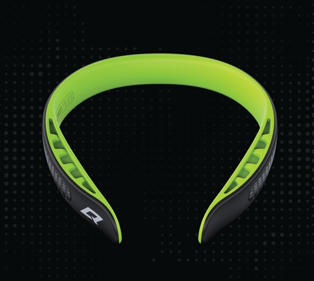 The Q-Collar helps protect the brain from sports related impacts. It is designed for maximum safety and comfort through any movement and to be worn with existing equipment, including helmets. (CNW Group/Q30 Innovations)