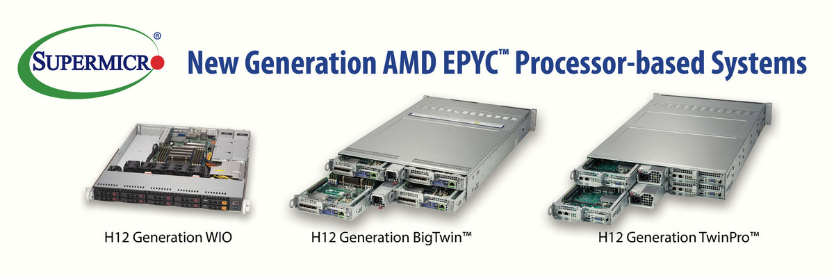 Supermicro Now Offering Amd Epyc 7002 Series Processor Based Systems To Customers Who Want To Transform Their Data Centers