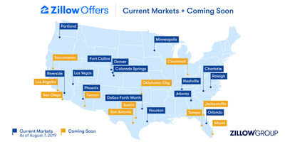 Zillow Offers Coming to Cincinnati, Jacksonville, Oklahoma