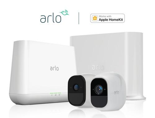Arlo annonce le lancement de la compatibilité HomeKit d'Apple (PRNewsfoto/Arlo Technologies, Inc.)