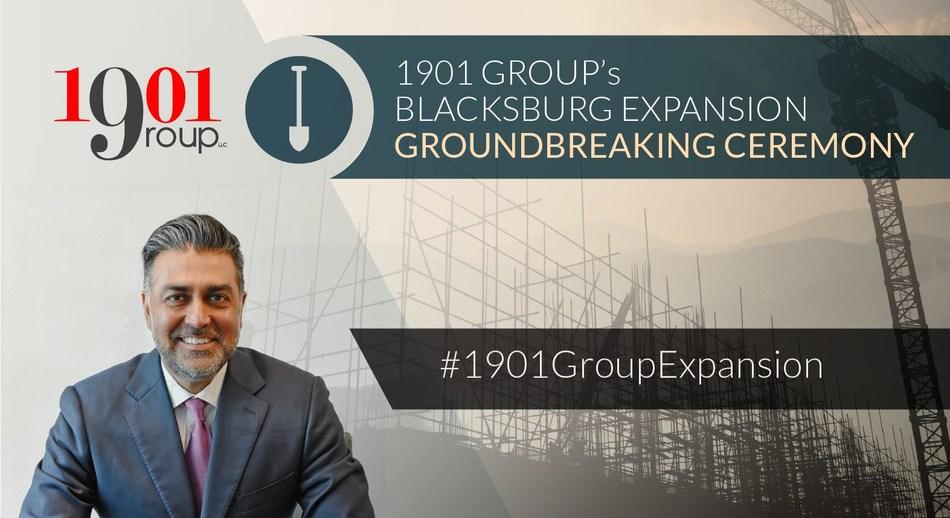 1901 Group Blacksburg Expansion, Sonu Singh CEO