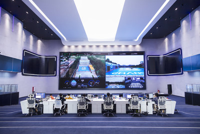 EHang command and control center in Guangzhou, China (PRNewsfoto/EHang Holdings Limited)