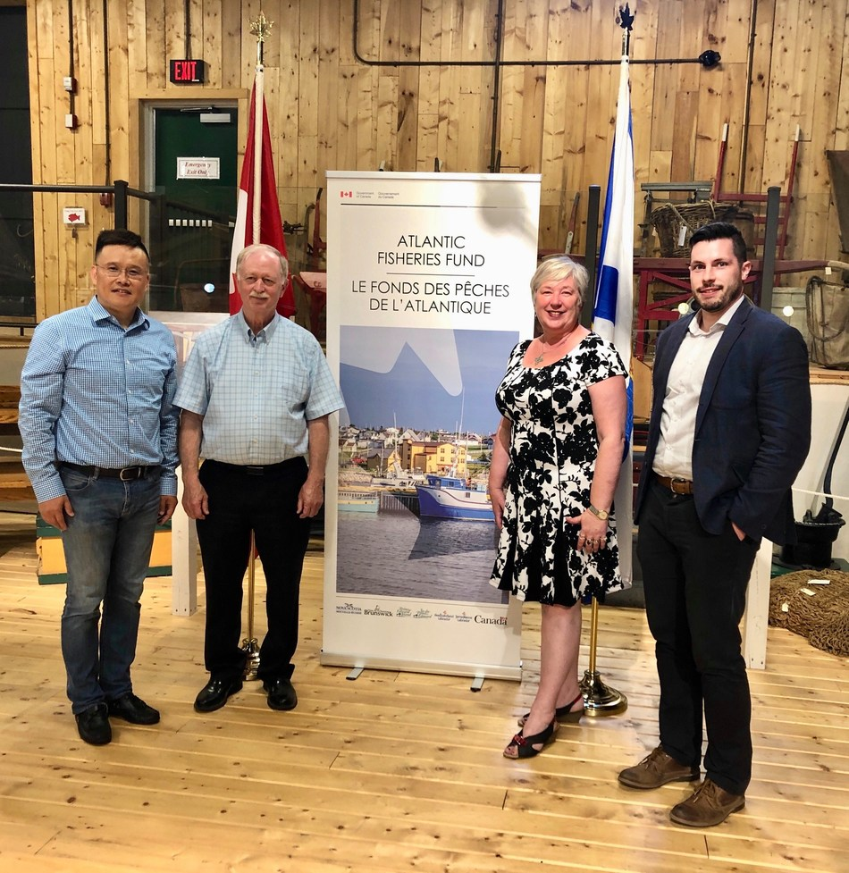 Government of Canada and Province of Nova Scotia invest in projects for new technology and trade in the fish and seafood sector (CNW Group/Fisheries and Oceans Canada, Maritimes Region)
