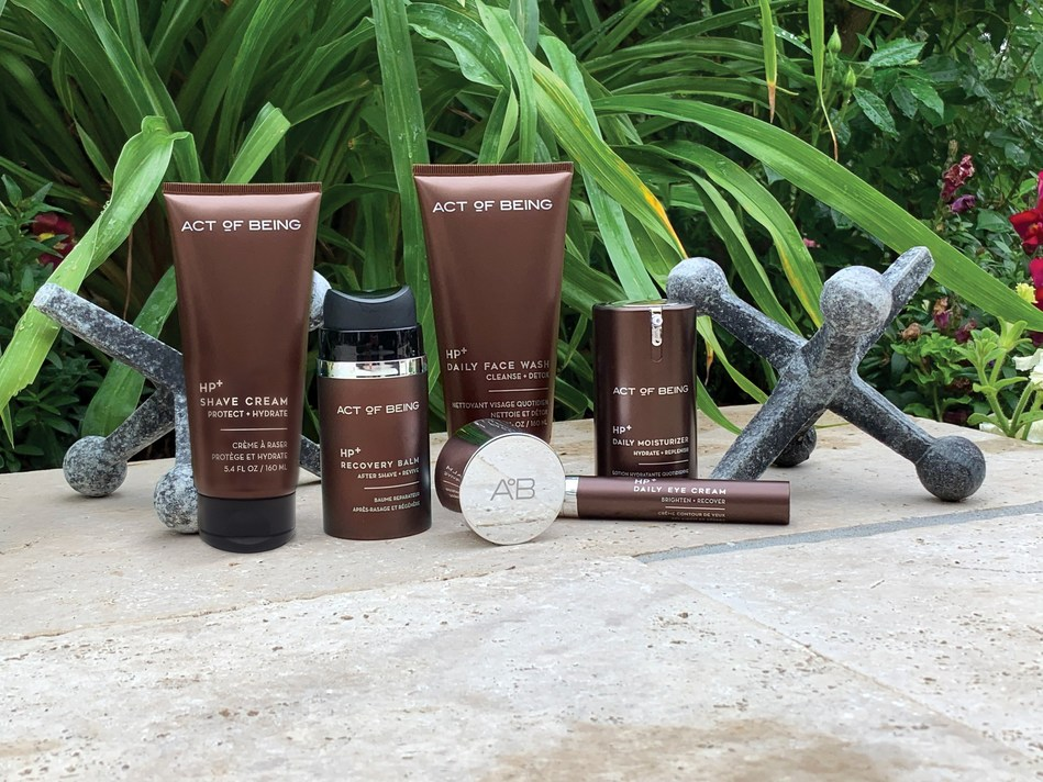 ACT OF BEING MEN'S SKINCARE AND GROOMING COLLECTION