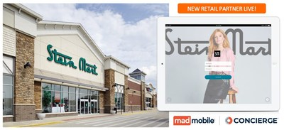 Stein Mart enhances the customer shopping experience in its stores with Mad Mobile's Concierge solution for Mobile POS and Endless Aisle.