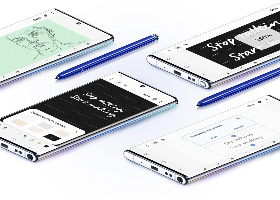 C Spire is accepting customer pre-orders for the Samsung Galaxy Note 10 and Galaxy Note 10+ smartphones at www.cspire.com/note10.  The devices, the fastest yet among Samsung's flagship series, will be available in retail channels beginning Aug. 23.