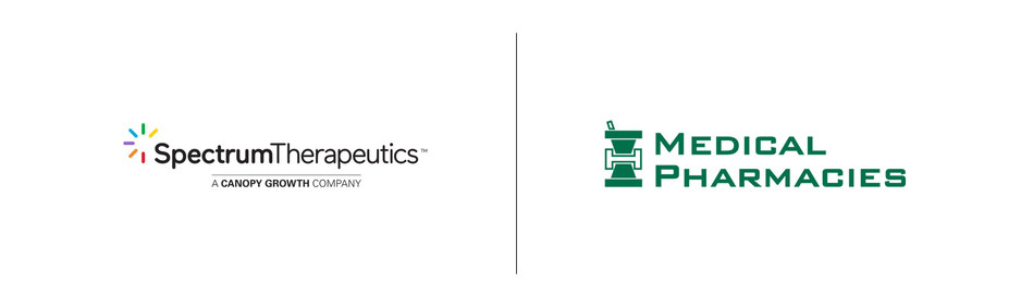 Spectrum Therapeutics announces five-year service agreement with Medical Pharmacies Group, Canada's largest specialty pharmacy that services residents in long-term care, retirement homes and other settings. (CNW Group/Canopy Growth Corporation)