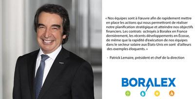 Patrick Lemaire (Groupe CNW/Boralex inc.)