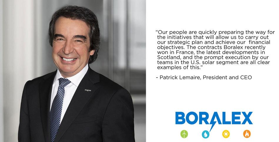 Patrick Lemaire (CNW Group/Boralex Inc.)