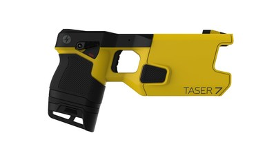 The TASER 7, Axon's seventh generation conducted energy weapon (CEW)