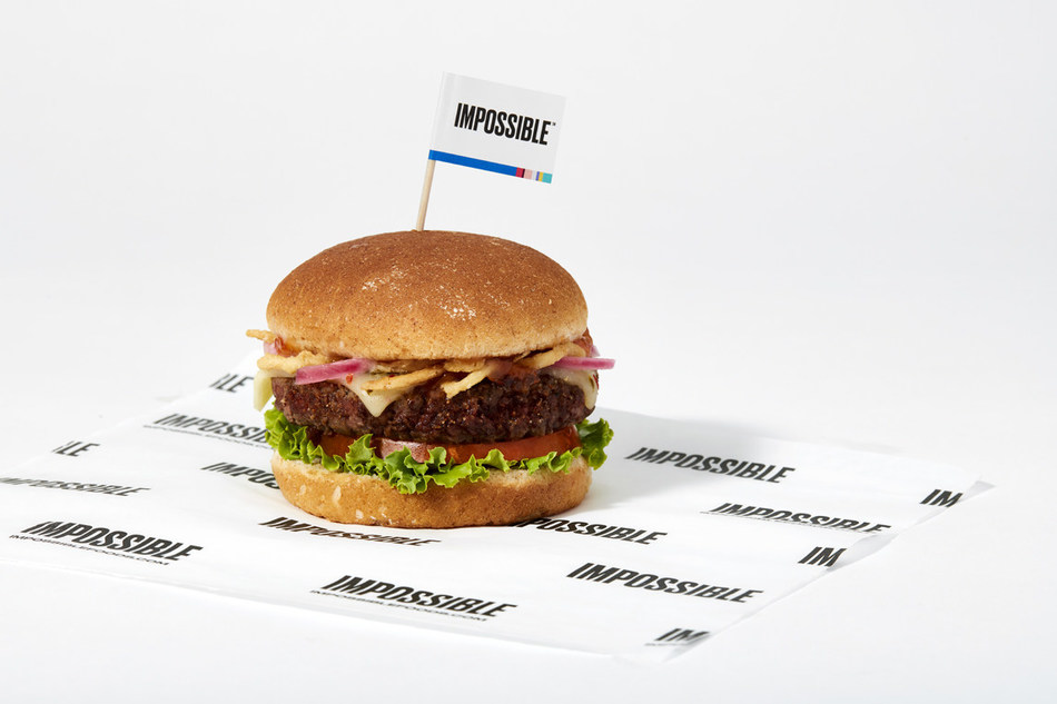 Sodexo debuts a new product line featuring the Impossible(tm) Burger, a burger made from plants that looks, cooks, and tastes like ground beef. The eight new menu items will be available at 1,500 of its 2,100 U.S. retail locations at universities, healthcare and corporate services accounts.