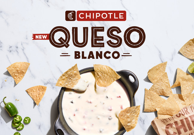 Chipotle tests new queso blanco