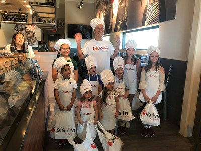 Pie Five Partners with Global Interactive Children's City, KidZania