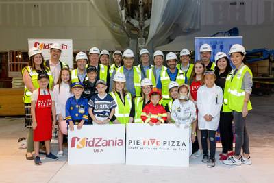 Pie Five will have two locations inside the first U.S. KidZania – one where kids will role play as chefs who make Pie Five pizzas and another as a restaurant on the mezzanine level inside KidZania for guests.