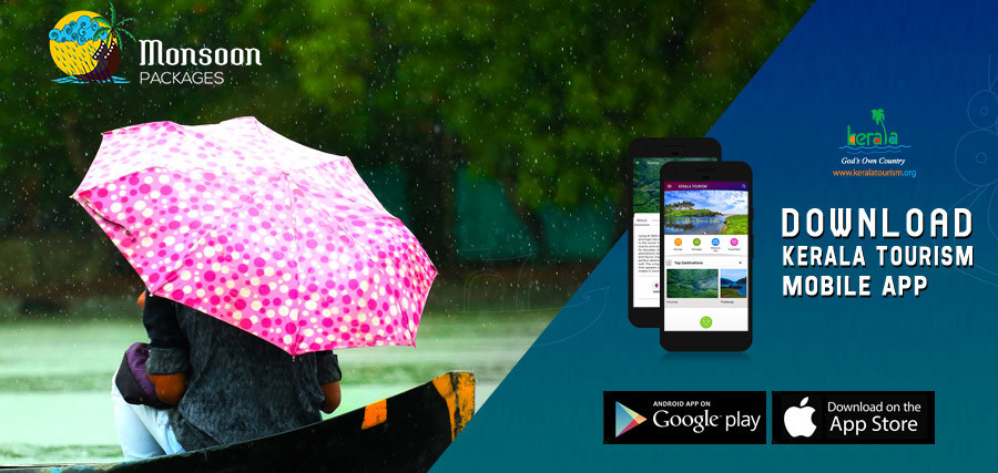 Kerala Tourism Launches its App; Introduces Monsoon Packages (PRNewsfoto/Kerala Tourism)
