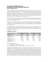 AGI 2019 Q2 MDA (CNW Group/Ag Growth International Inc. (AGI))
