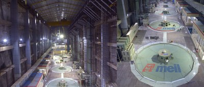 MEIL has successfully commenced operations in the world's largest underground pumping station, The Package 8