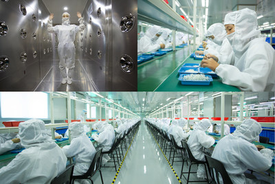 Inside the VAPORESSO factory