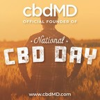 cbdMD Celebrates National CBD Day as Official Founder