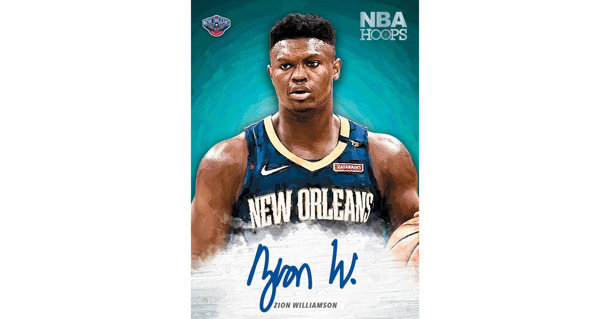 Panini America Signs Zion Williamson For Exclusive Trading