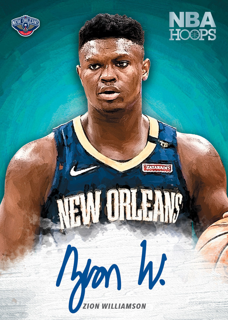 Panini America signs Zion Williamson to exclusive trading card agreement.