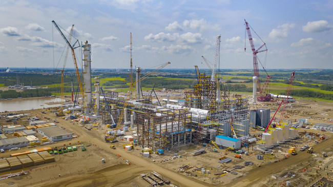 Heartland Petrochemical Complex July 2019 (CNW Group/Inter Pipeline Ltd.)