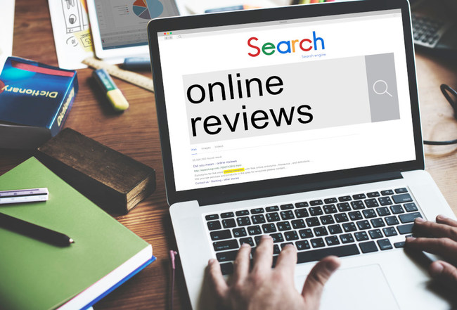 Customers usually begin with search engines