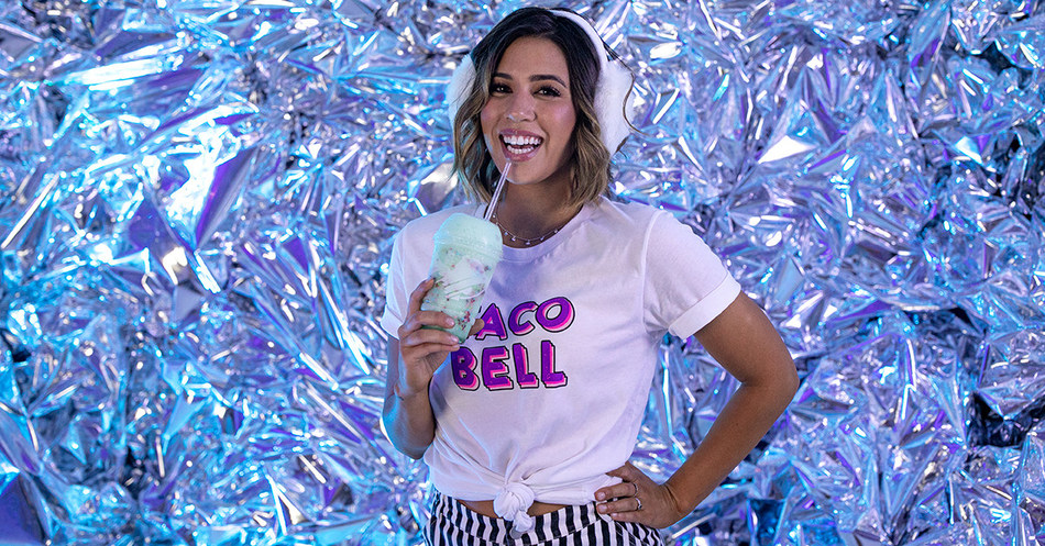 In celebration of the beloved Baja Blast's 15th Birthday, guests can also enjoy the Baja Blast Freeze lounge, complete with a Baja Blast Birthday Freeze created especially for The Bell.