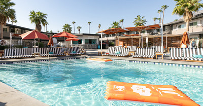 Traveling from 21 different states, fans will dine at the resrot's Baja Bar and enjoy activities and entertainment against the picturesque Palm Springs desert backdrop.