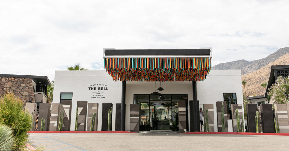 Summer's most anticipated hotel and destination is finally open as Taco Bell® debuts its spiciest limited time offer - The Bell: A Taco Bell Hotel and Resort in Palm Springs.