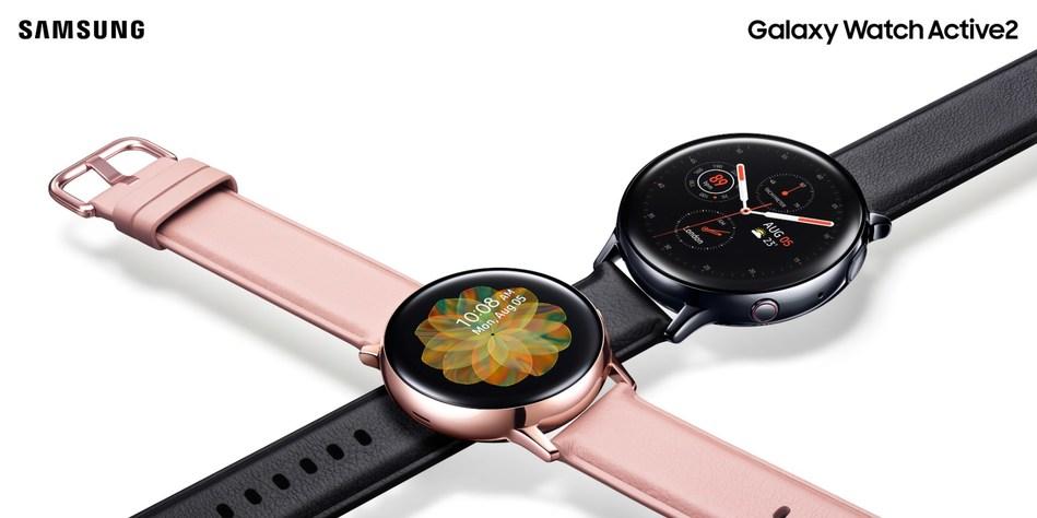 Samsung Canada lance la Galaxy Watch Active2, qui a été conçue pour un bien-être équilibré avec une connectivité améliorée (Groupe CNW/Samsung Electronics Canada)